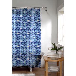 Tiles Extra Long Peva Shower Curtain