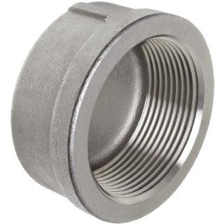 Stainless Steel 304 Cast Pipe Fitting, Cap, Class 150, 1/2NPT Female