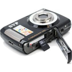 SVP Cybersnap 901 9MP 2.4 inch LCD Black Digital Camera/ Video
