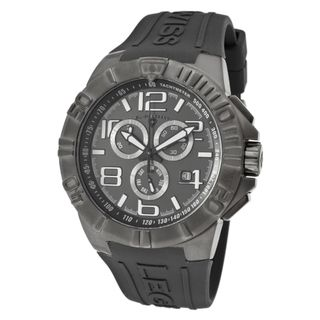 Swiss Legend Mens Super Shield Grey Silicone Watch