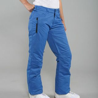 Zonal Womens Standoff Skydiver Blue Snowboard Pants