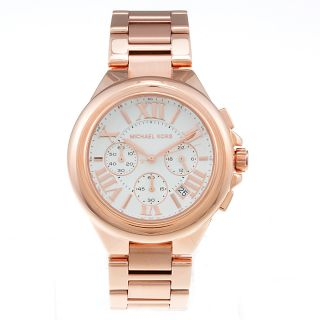 Michael Kors Womens Rose Gold Watch Today $204.99