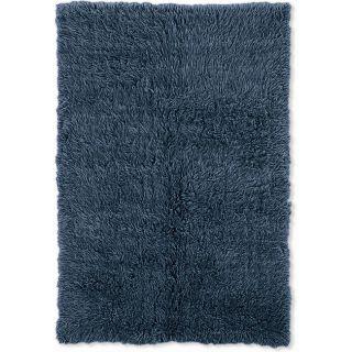 Flokati Denim Blue Area Rug (5 x 8)