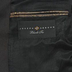 Joseph Abboud Black Tie Wool 2 button Notch Lapel Tuxedo