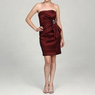 Besty & Adam Womens Brick Bead embellished Dress