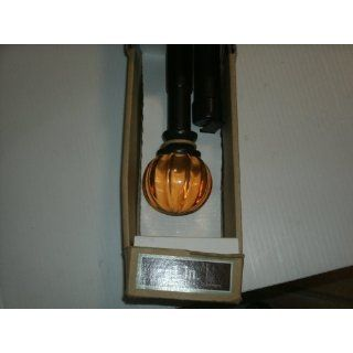 Allen+Roth 72 to 144 Bronze Metal Single Curtain Rod Item# 300369