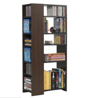 Atlantic Media Mix Espresso 3 tier Storage Tower