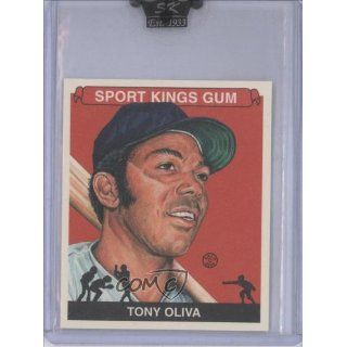 com Tony Oliva (Trading Card) 2009 Sportkings Mini #152 Collectibles