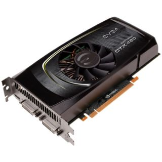 EVGA 01G P3 1366 R GeForce GX 460 Graphics Card   650 MHz Core   1
