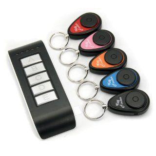 Funk Schlüssel Finder Schlüsselfinder Key finder Set mit 5 Anhänger