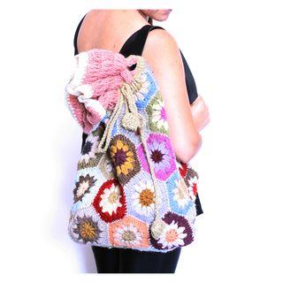 Backpack Style Crochet Bag (Nepal)