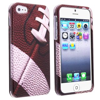 BasAcc Football Sport Collection Snap on Case for Apple iPhone 5