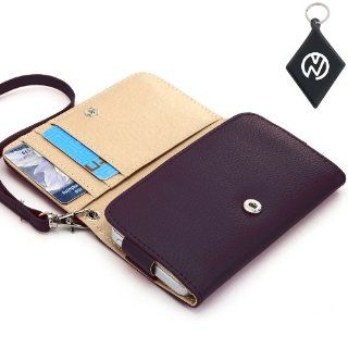 Sony Ericsson Xperia neo V Wallet   Purple Clutch Carrying