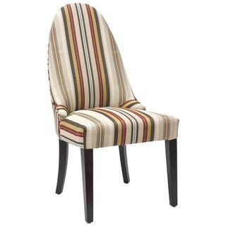 Regal Striped Side Chair
