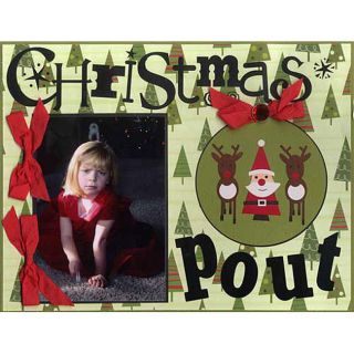 Karen Foster Design 185 piece Christmas Scrapbook Kit
