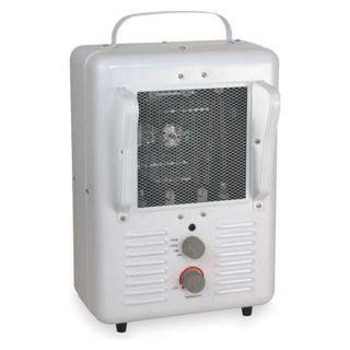 Dayton 3VU32 Electric Space Heater, Fan Forced, 120V,