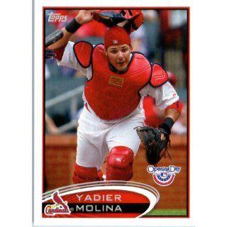 2012 Topps Opening Day Baseball #154 Yadier Molina St