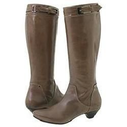 Lumiani Darby Grey Leather Boots