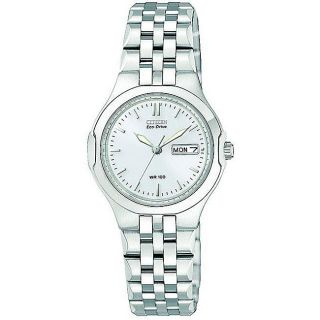 Citizen Womens Corso Eco Drive Stainless Steel Watch