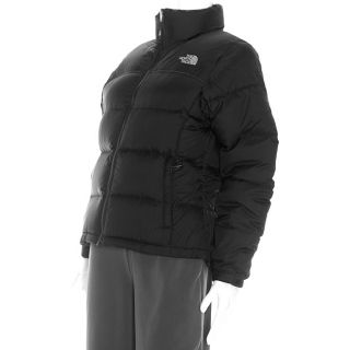 The North Face Womens Nuptse Black Jacket