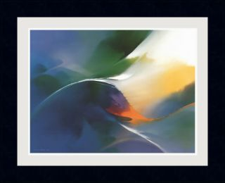 Thomas Leung Vitality Framed Print