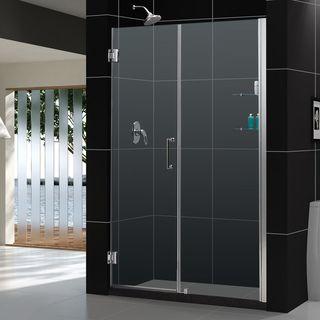 DreamLine Unidoor 60 61 inch Frameless Adjustable Shower Door
