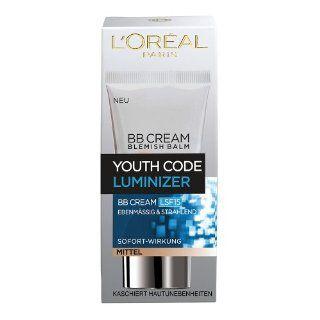 Oral Paris Youth Code Luminizer BB Cream Medium/Dunkel, 50 ml