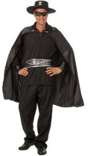 exclusives 6 teiliges Herren Zorro Rächer Kostüm mit Hut für die