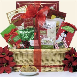 Tidings of Joy Small Christmas Holiday Gourmet Gift Basket