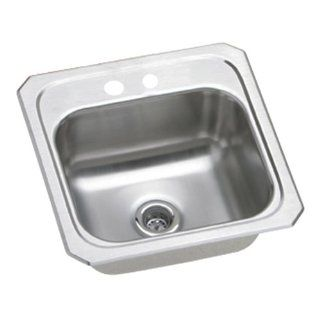 Elkay BCR152 Gourmet Celebrity Sink, Stainless Steel
