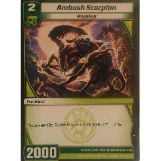 Masters   Loose Single Card   #133/165   Ambush Scorpion   Common
