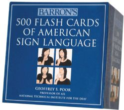 Barrons 500 Flash Cards of American Sign Language (Cards)