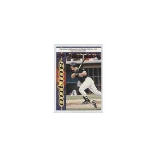 Ordonez Chicago White Sox (Baseball Card) 1998 Pacific Online Red #177