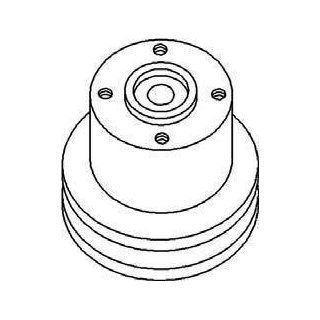 New Water Pump Pulley 731805M1 Fits MF 165, 255, 30, 302
