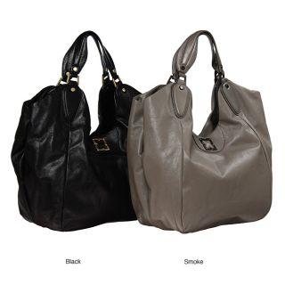 BCBGMAXAZRIA Leather Hobo Bag