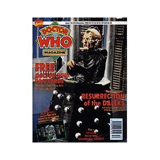 The Official Magazine Issue #194 23rd December 1992 Davros and Daleks
