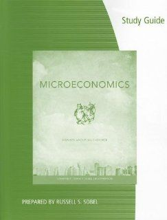 Coursebook for Gwartney/Stroup/Sobel/Macphersons Microeconomics