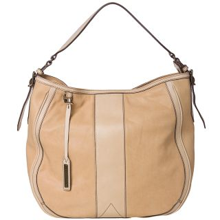 Burberry Medium Two tone Trench Leather Hobo Bag