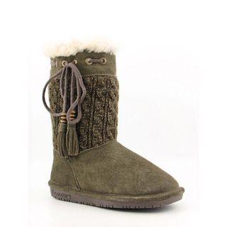 Bearpaw Womens Constantine Green Boots