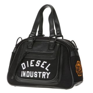 DIESEL Sac à main HAPPY WINTER Noir   Achat / Vente SAC A MAIN DIESEL