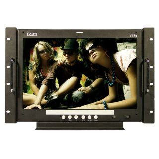 iKan Corporation 17 Desktop / Rackmount LCD Monitor Black