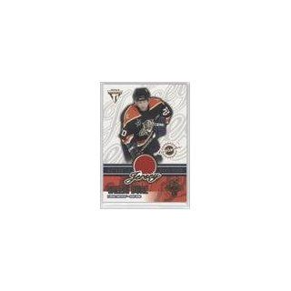 Valeri Bure/1352 #221/1,352 (Hockey Card) 2002 03 Titanium
