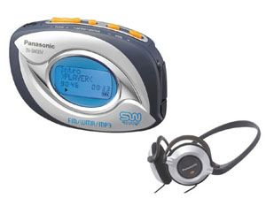 Panasonic SVSW30 256MB MP3 Player/Radio
