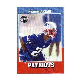 2001 Upper Deck Vintage #239 Hakim Akbar RC: Collectibles