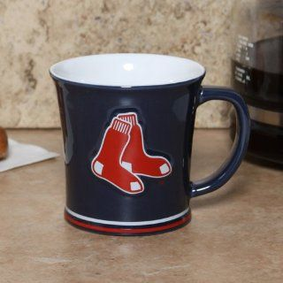 Boston Red Sox 15 Oz Sculpted Coffee Mug Sports
