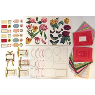 Anna Griffin Die Cuts and Stickers (Set of 297)