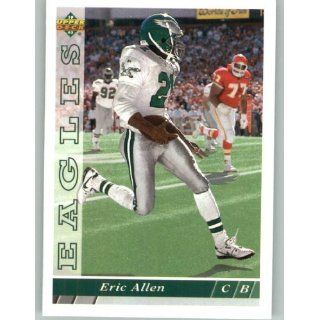 1993 Upper Deck #257 Eric Allen   Philadelphia Eagles (Football Cards)