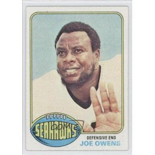 Owens Seattle Seahawks (Football Card) 1976 Topps #259 Collectibles