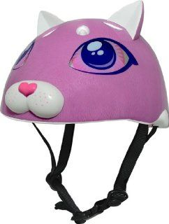 Raskullz Cutie Cat Helmet, Youth 8+ Years, Pink Sports