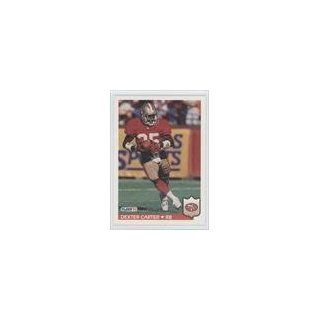 Dexter Carter San Francisco 49ers (Football Card) 1992